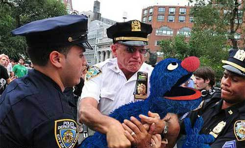 heavy cops arrest Grover