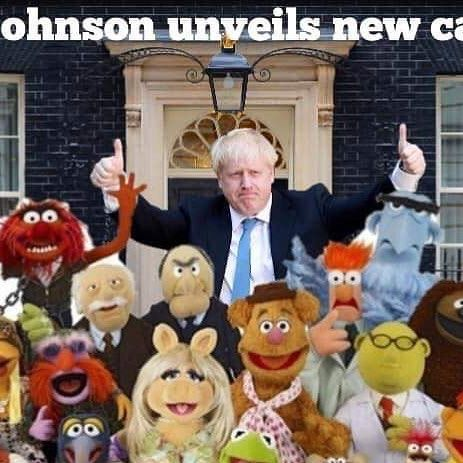 Image result for boris johnson as a muppet